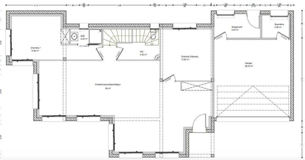 Maisons individuelles neuves à Prévessin-Moëns-plans sur mesures
