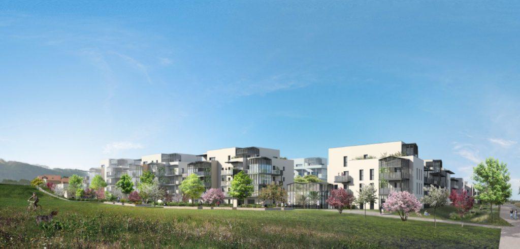 """Appartements à vendre Ferney-Voltaire """"Garden-Park""""-Vue-pdm1"""