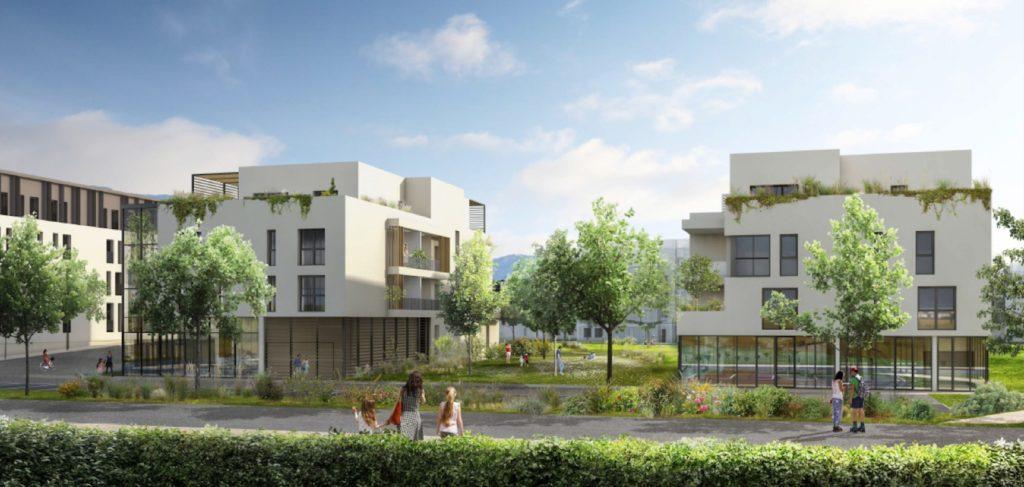 """Appartements à vendre Ferney-Voltaire """"Garden-Park""""-Vue-pdm5"""