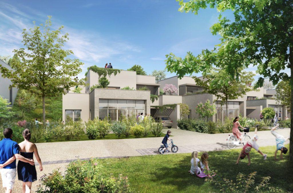"""Appartements à vendre Ferney-Voltaire """"Garden-Park""""-villas-maison"""