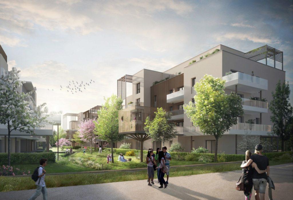 """Appartements à vendre Ferney-Voltaire """"Garden-Park""""-forêt"""