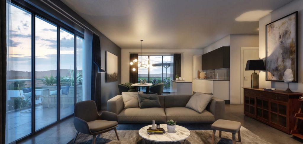 """Appartements à vendre Ferney-Voltaire """"Garden-Park""""-Verger-appartement-interieur"""