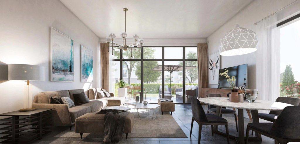 """Appartements à vendre Ferney-Voltaire """"Garden-Park""""-villa-interieur"""