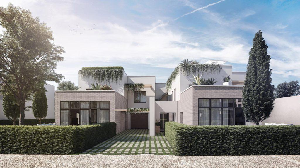 """Appartements à vendre Ferney-Voltaire """"Garden-Park""""-exterieur-villa-maison"""
