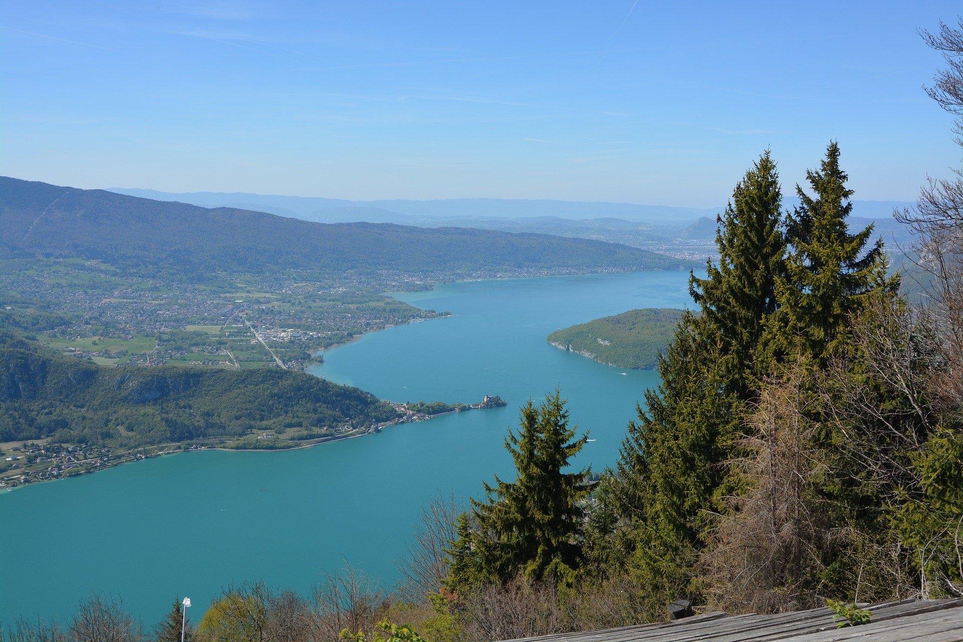 Grand Genève en France voisine, Annecy lac