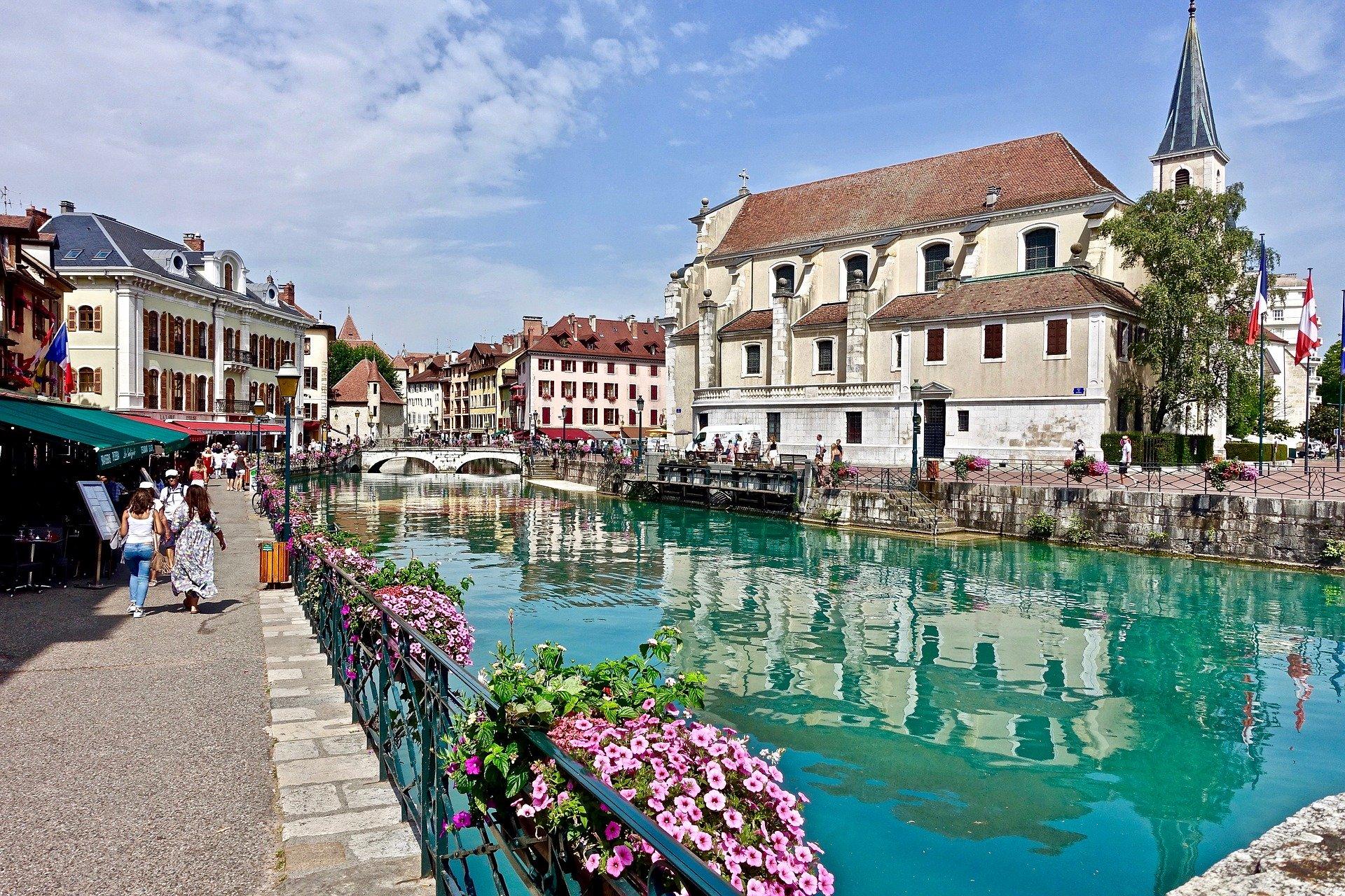 Grand Genève en France voisine, Annecy canaux
