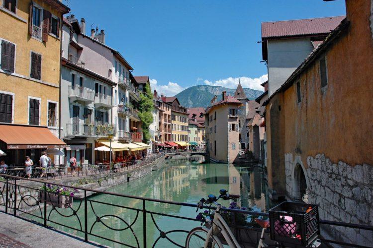 Grand Genève en France voisine, ruelles d'Annecy