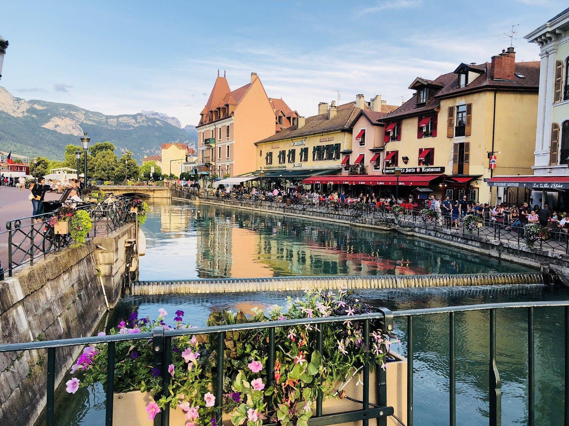 Grand Genève en France voisine, Annecy ballade sur canaux