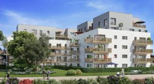 A vendre appartements neufs à Ambilly proche frontière-vita-Perspective-Façade