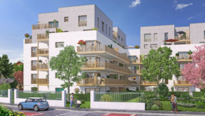 A vendre appartements neufs à Ambilly proche frontière-vita-Perspective-Façade2