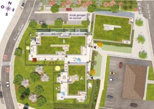 A vendre appartements neufs à Ambilly proche frontière-vita-pdm