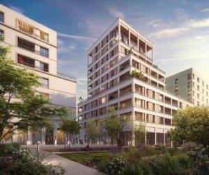 A vendre appartements neufs Ambilly-ARCHIPEL-74-ecoquartier-placette