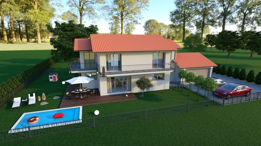 Maisons neuves de standing à Prévessin Moëns