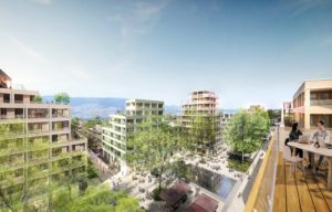 A vendre appartements neufs Ambilly-ARCHIPEL-74--ecoquartier-terrasse